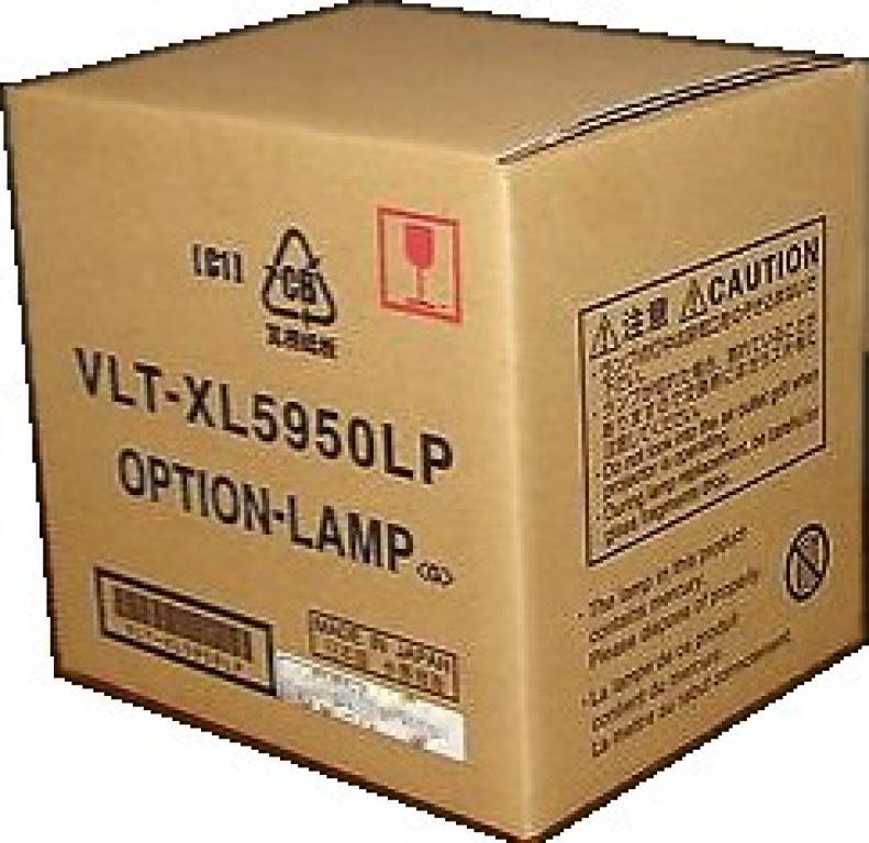 OEM MITSUBISHI VLT-XL5950LP LAMP FOR XL5900 XL5900LU LVP-XL5900U XL5900U U3